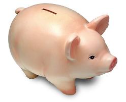 Subsidio de iTunes App Store cerdo