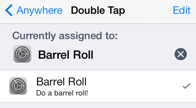 Barrel Roll Activator