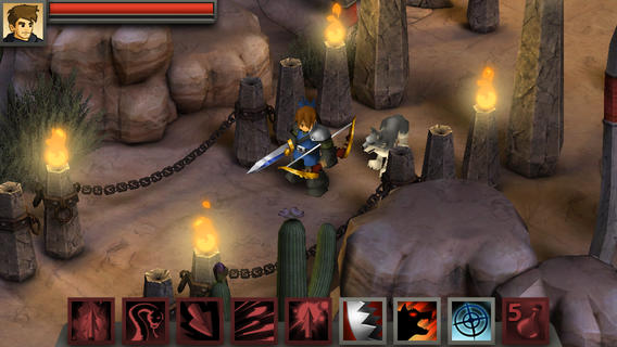 Battleheart Legacy 1.0 for iOS (iPhone screenshot 001)