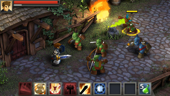 Battleheart Legacy 1.0 for iOS (iPhone screenshot 002)