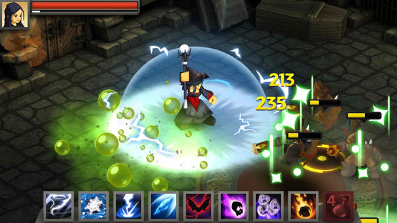 Battleheart Legacy 1.0 for iOS (iPhone screenshot 003)