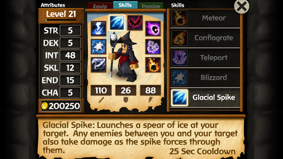 Battleheart Legacy 1.0 for iOS (iPhone screenshot 005)