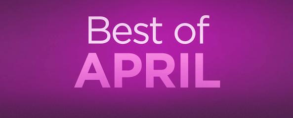 Best of April App Store