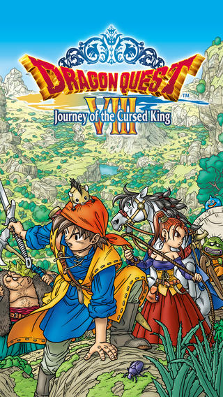Dragon Quest VIII 1.0 for iOS (iPhone screenshot 001)