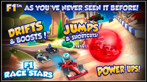 F1 Race Stars 1.0 for iOS (iPhone screeshot 001)