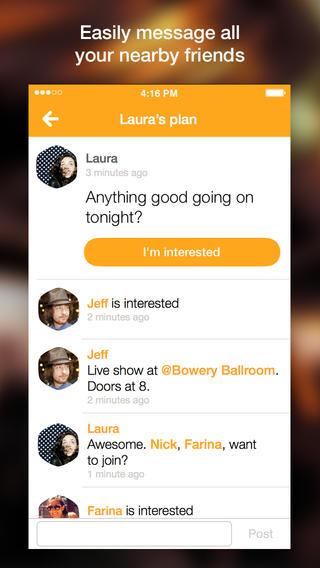 Foursquare Swarm 1.0 for iOS (iPhone screenshot 007)
