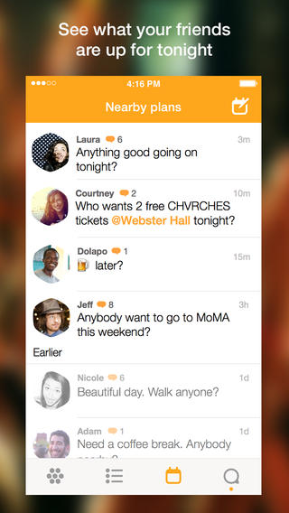 Foursquare Swarm 1.0 for iOS (iPhone screenshot 008)