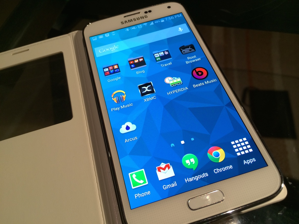 GS5 Screen