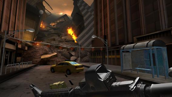Godzilla Strike Zone 1.0 for iOS (iPhone screenshot 004)