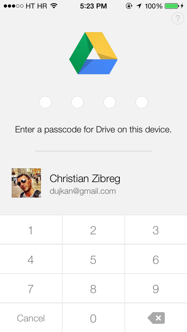 Google Drive 3.0 for iOS (iPhone screenshot 003)