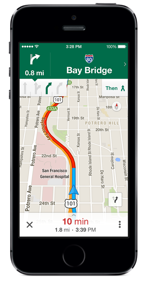 Google Maps 3.0: offline mode, lane guidance, Voice Search ... on google offline maps, windows offline maps, nokia offline maps, nokia here maps, android offline maps,
