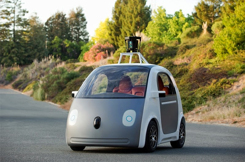 Google Self-Driving Car (Artist Rendition 001)