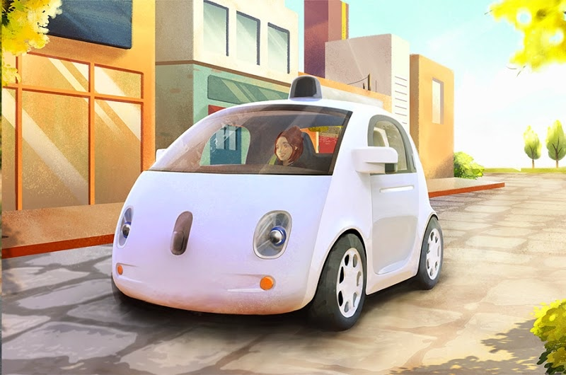 Google Self-Driving Car (Vehicle Prototype 001)
