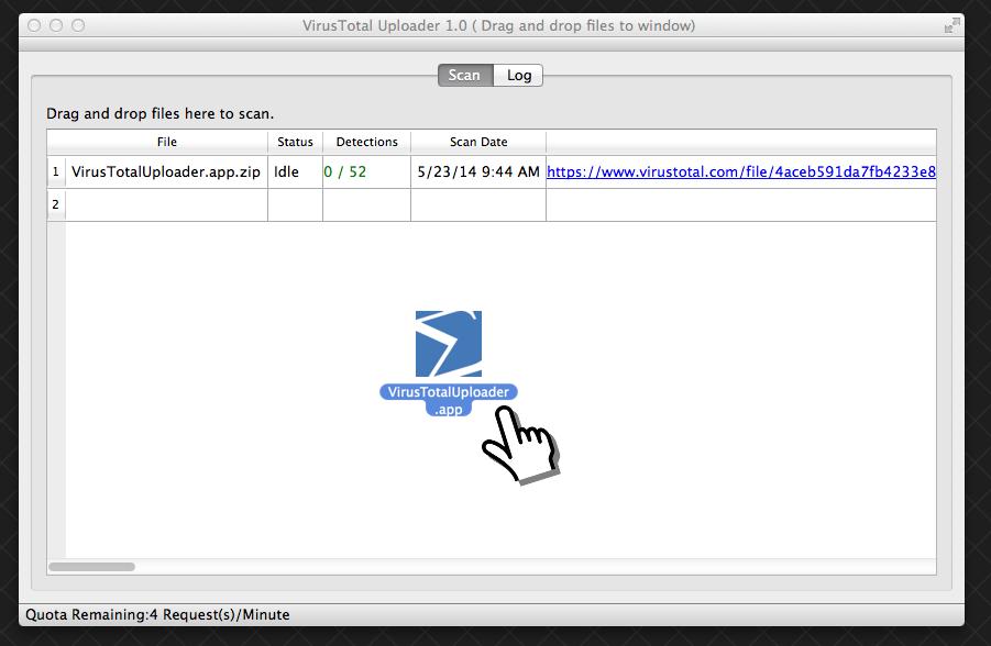 VirusTotal for MAc OSX