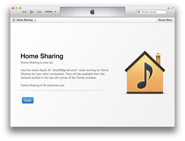 home sharing iphone how to from your itunes library on iphone or 10783