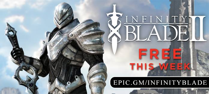 Infinity Blade II 1.3.2 for iOS (App Store of the Week banner)