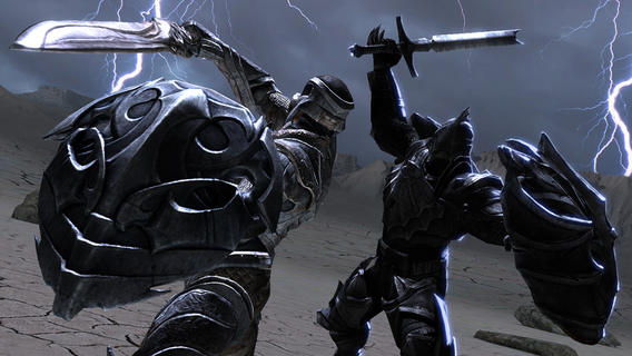 Infinity Blade II 1.3.2 for iOS (iPhone screenshot 001)
