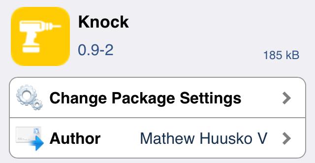 Knock Cydia