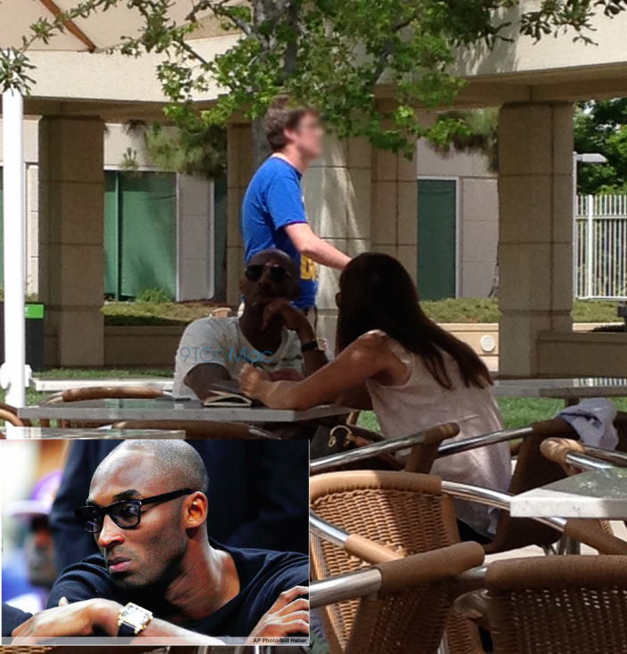 Kobe Bryant on Apple campus
