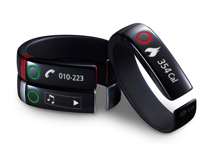 LG Lifeband Touch Activity Tracker (image 003)
