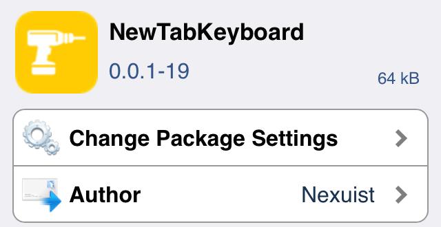NewTabKeyboard 3