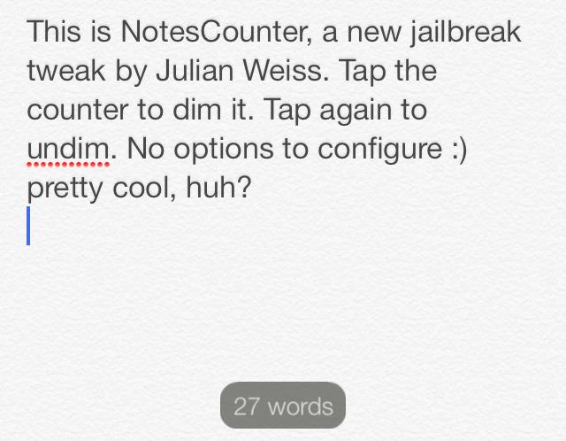 NotesCounter Dark