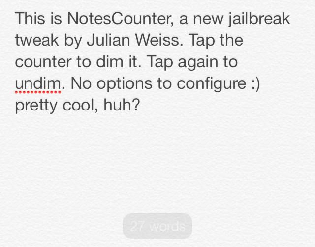 NotesCounter Light