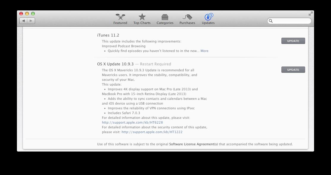 OS X 10.3 install pormpt
