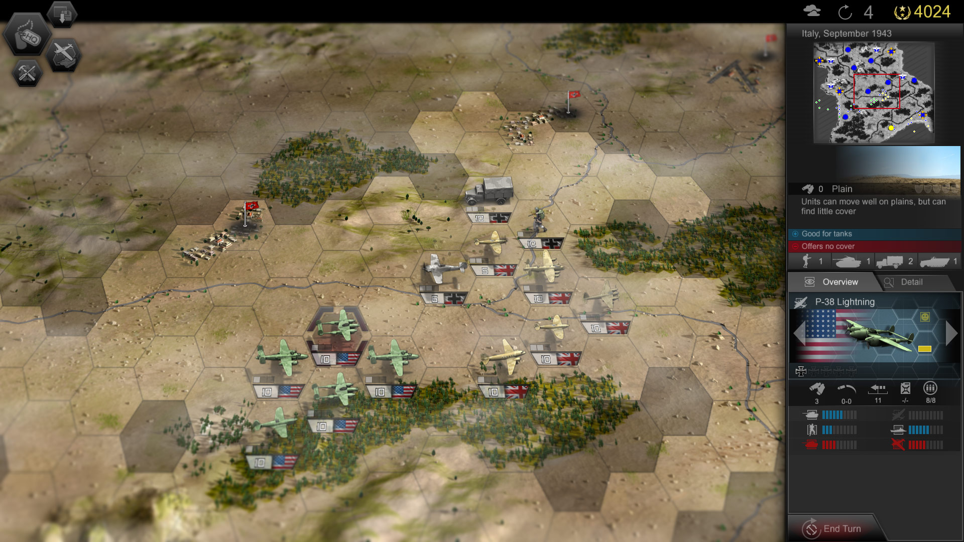 Panzer Tactics HD 1.0 for iOS (PC screenshot 001)