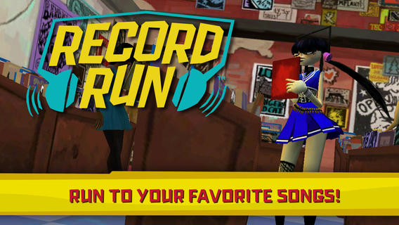 Record run 1.1 for iOS (iPhone screenshot 001)