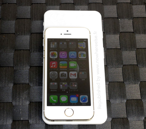 Size comparison (iPhone 6 vs iPhone 5s, RocketNews24 002)