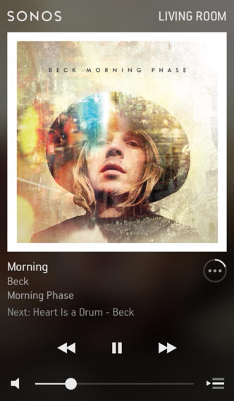 Sonos 5.0 for iOS (iPhone screenshot 002)