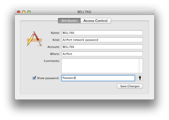 remove wifi password from keychain mac