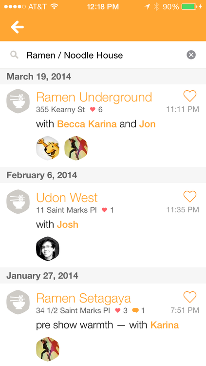 Swarm 1.0 for iOS (iPhone screenshot 004)