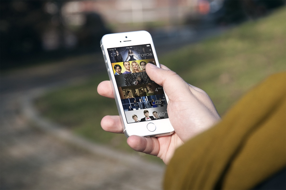 TeeVee 3.0 for iOS (teaser 002, Homepage)