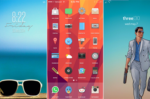 The best Winterboard themes for iOS 7