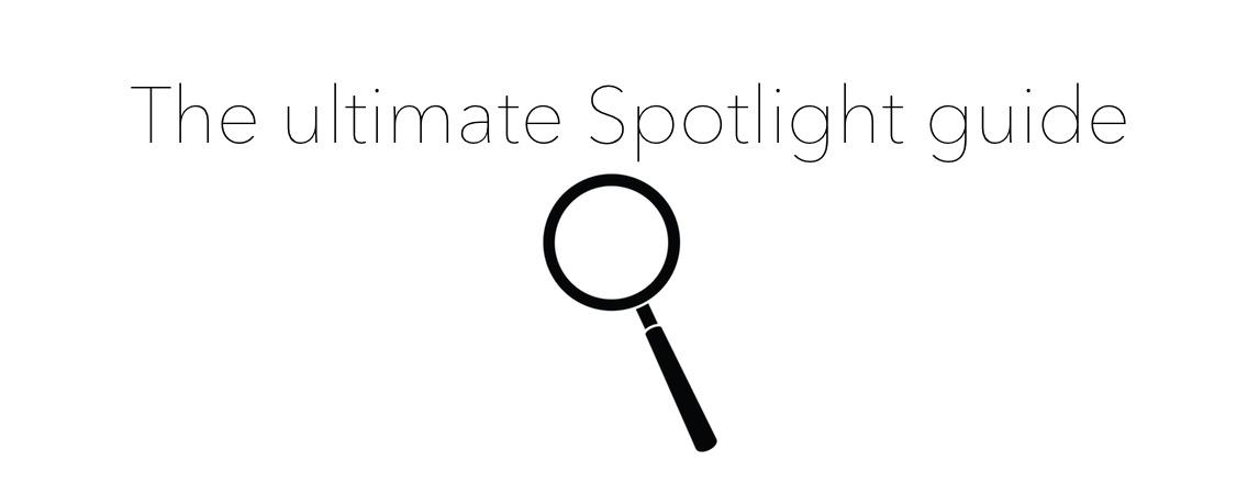 Ultimate guide header Spotlight