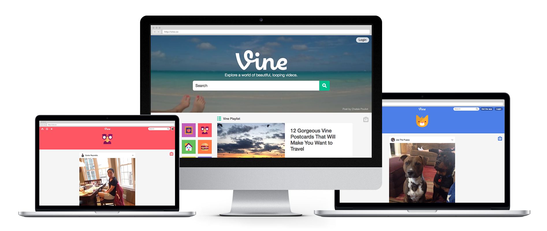 Vine web redesign (Screenshot 002)