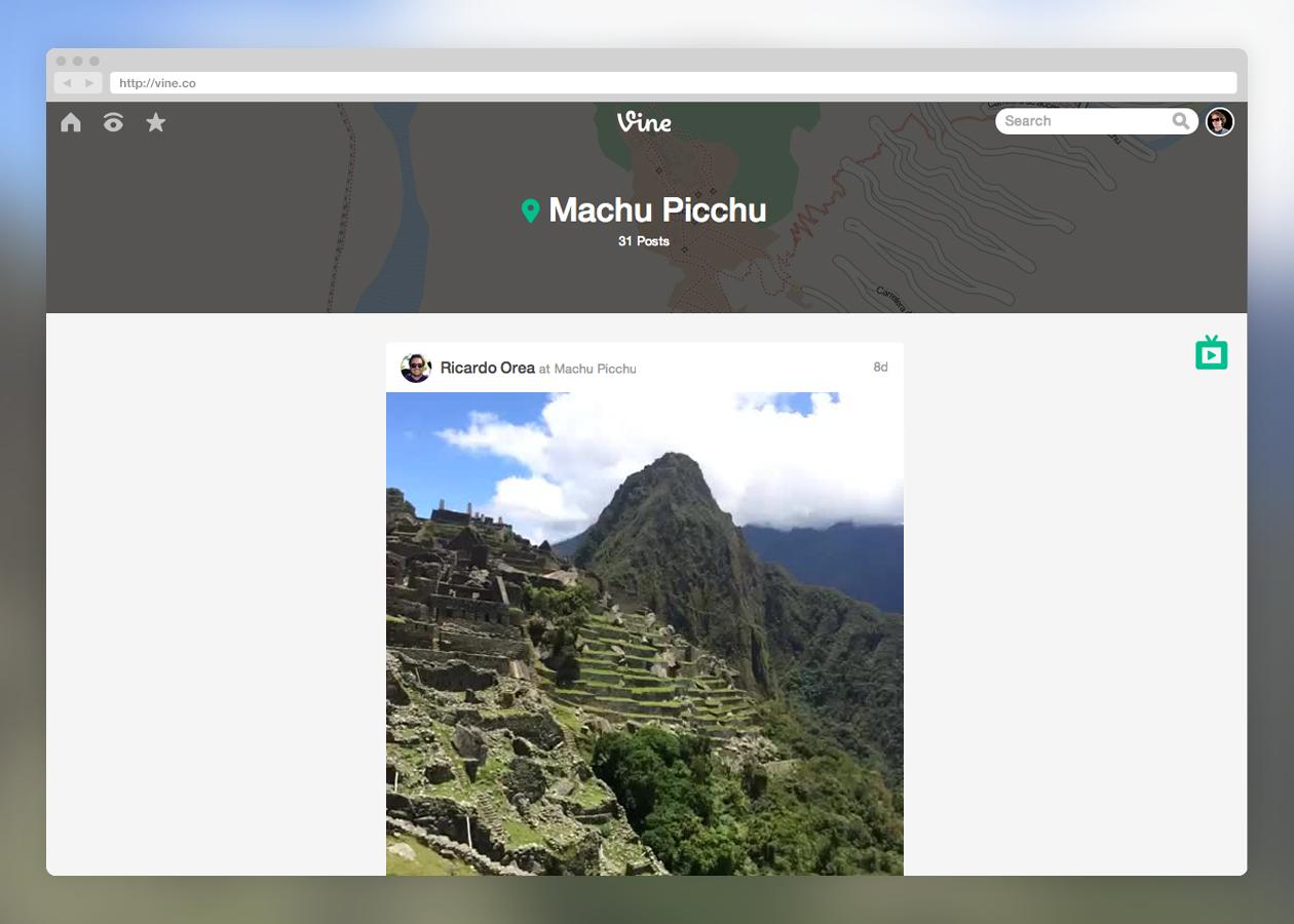 Vine web redesign (Screenshot 003)
