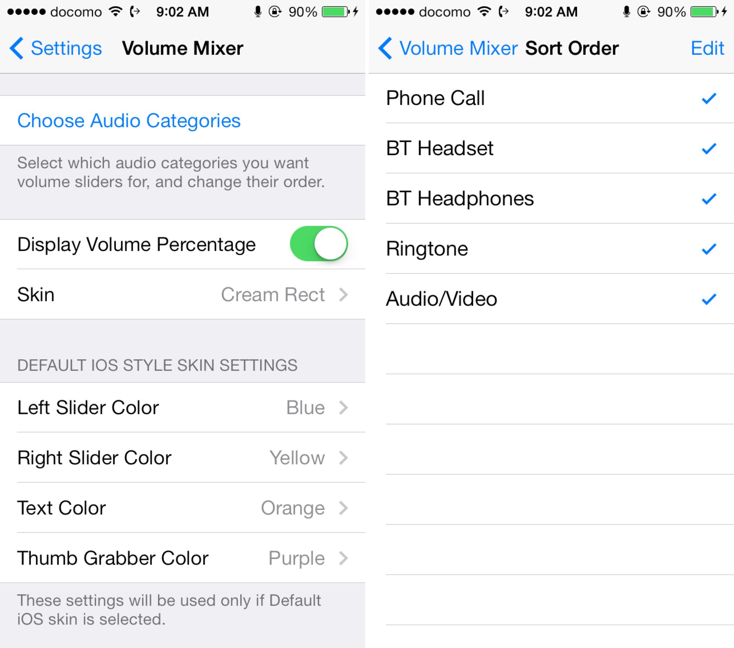39 volume mixer 39 brings granular control to ios 39 audio categories. Black Bedroom Furniture Sets. Home Design Ideas