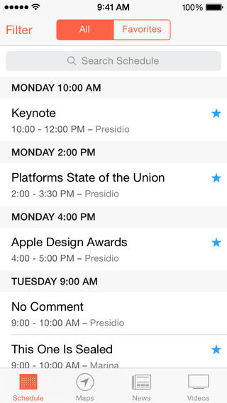 WWDC 2.0 for iOS (iPhone screenshot 001)