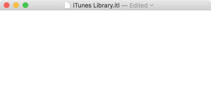 delete itunes library itl