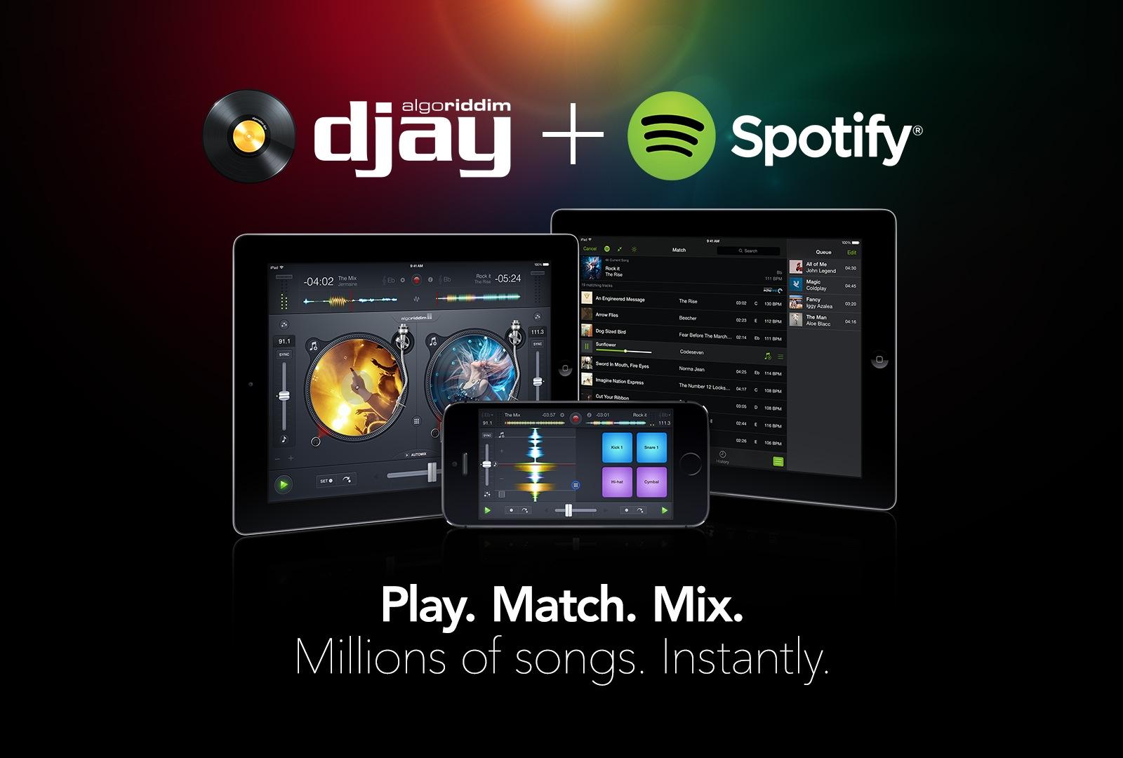 djay and Spotify (teaaser 001)