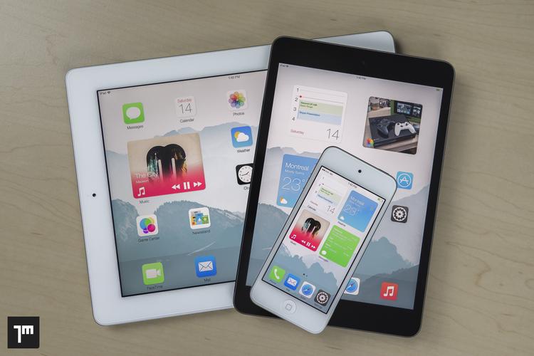 iOS widgets concept (Jay Machalani 001)