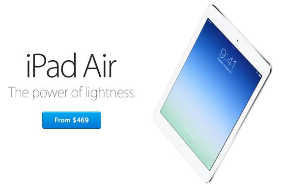 iPad Air educational pricing