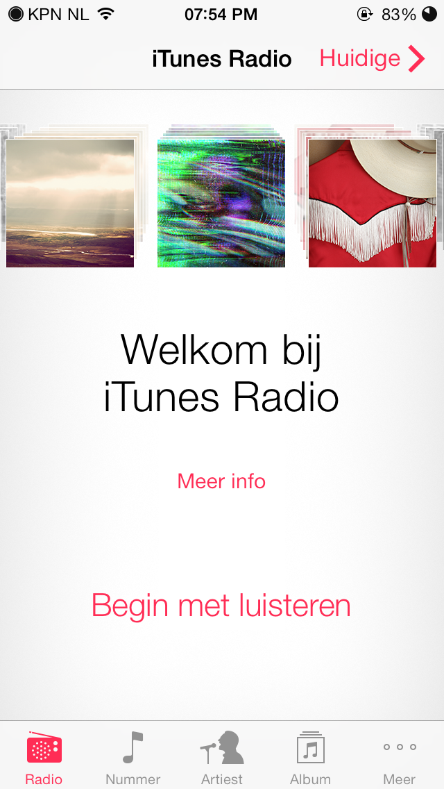 iTunes Radio (The Netherlands 003)