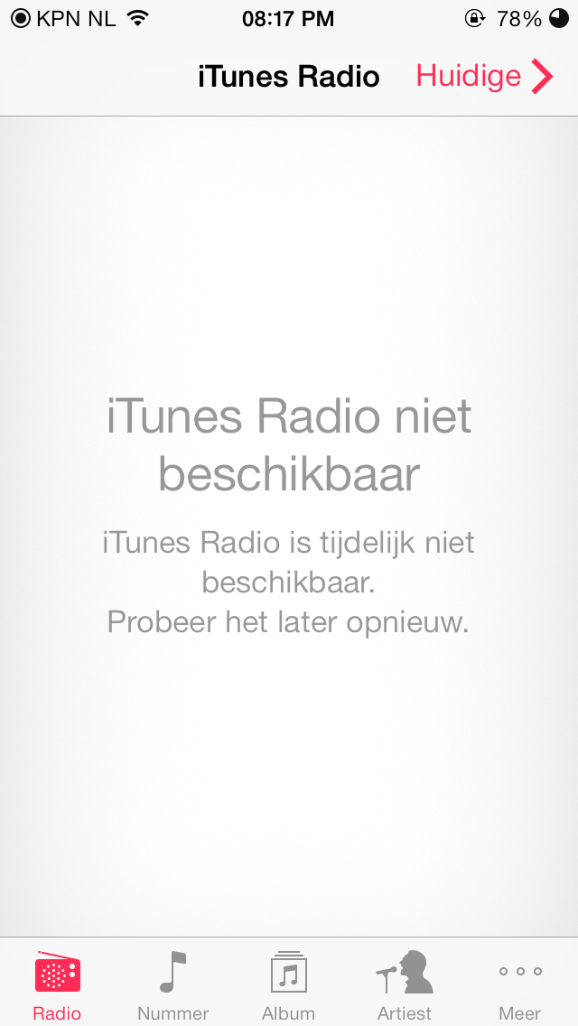 iTunes Radio (The Netherlands 004)