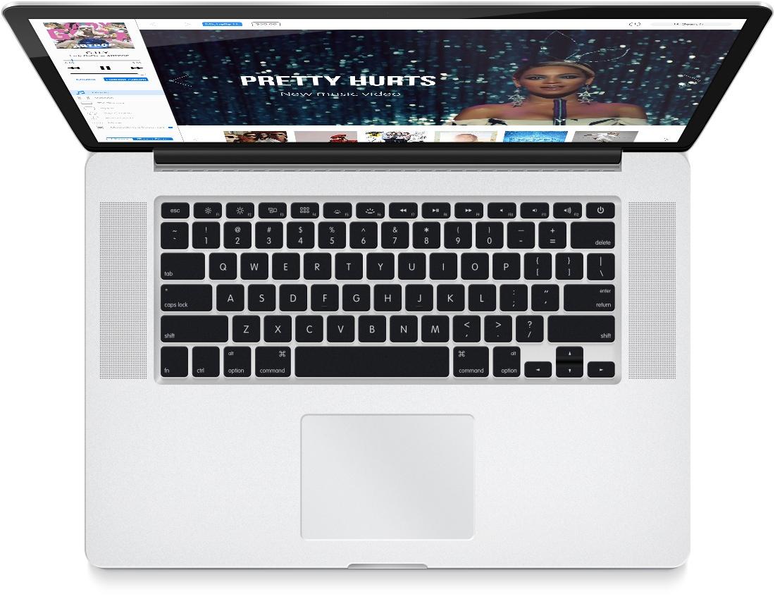iTunes concept (Brye Kobayashi 008, MacBook Pro)