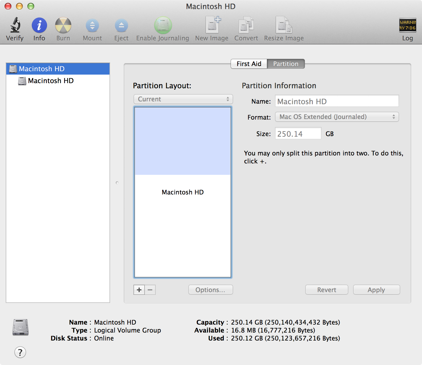 03 disk utility partition tab