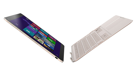 2 in 1 tablet prototype Intel Core M
